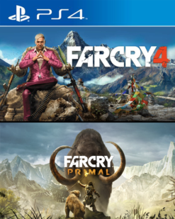 Combo Far Cry 4 y Far Cry Primal
