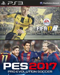 Combo Fifa y PES 17