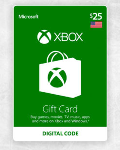 Xbox Live Cash 25 usd