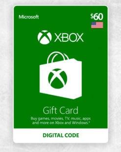 Xbox Live Cash 60 usd