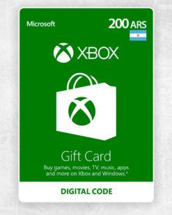 Xbox Live 200 Pesos Argentinos