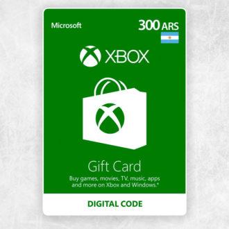Xbox Live 300 Pesos Argentinos